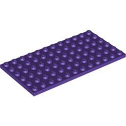 LEGO part 3028 Plate 6 x 12 in Medium Lilac/ Dark Purple