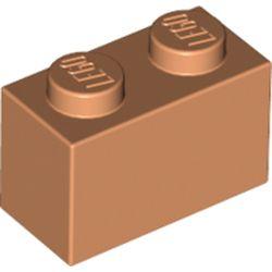 LEGO part 3004 Brick 1 x 2 in Nougat