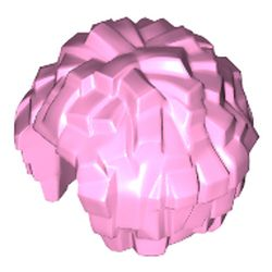 LEGO part 87997 Equipment Cheerleader Pom Pom [Plain] in Light Purple/ Bright Pink