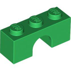 LEGO part 4490 Brick Arch 1 x 3 in Dark Green/ Green