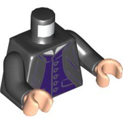 LEGO part 76382 MINI UPPER PART, NO. 5398 in Black