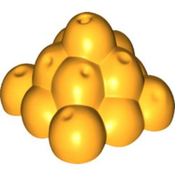 LEGO part 18917 Duplo Food Fruit Pyramid in Flame Yellowish Orange/ Bright Light Orange