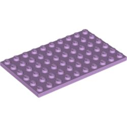 LEGO part 3033 Plate 6 x 12 in Lavender