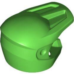 LEGO part 35458 Minifig Helmet Dirt Bike in Bright Green