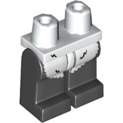 LEGO part 970c00pr2138 MINI LOWER PART, NO. 2138 in Black