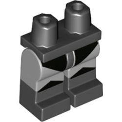 LEGO part 77583 MINI LOWER PART, NO. 2043 in Medium Stone Grey/ Light Bluish Gray