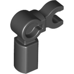 LEGO part 72869 Bar Holder with Clip and 90° Angle (Mechanical Leg) in Black