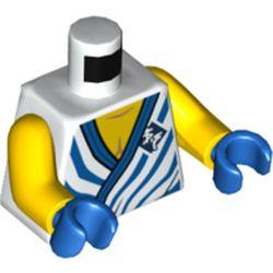LEGO part 76382 MINI UPPER PART, NO. 5456 in White