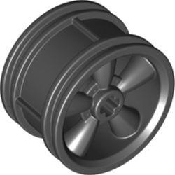 LEGO part 42716 Rim 30 x 20 5-Spoke in Black