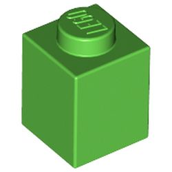 LEGO part 3005 Brick 1 x 1 in Bright Green