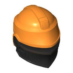 LEGO part 78757 MINI HELMET, NO. 355 in Bright Orange/ Orange