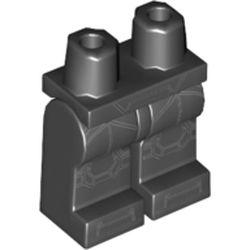 LEGO part 970c00pr2119 MINI LOWER PART, NO. 2119 in Black