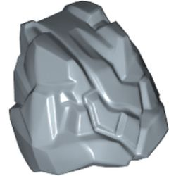 LEGO part 78940 Minifig Headwear Rocks in Sand Blue