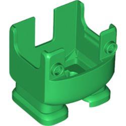 LEGO part 75355 CREATURE W/ FUNCTION, LOWER PART, NO. 15 in Dark Green/ Green
