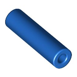 LEGO part 5102c02 Hose, Pneumatic 4mm D. 2L / 1.6cm in Bright Blue/ Blue