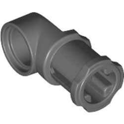 LEGO part 32126 Technic Axle and Pin Connector Toggle Joint Smooth in Dark Stone Grey / Dark Bluish Gray