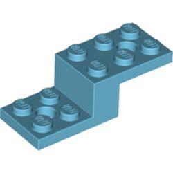 LEGO part 11215 Bracket 5 x 2 x 1 1/3 in Medium Azure