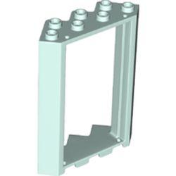 LEGO part 28327 Door Frame 4 x 4 x 6 Corner in Aqua/ Light Aqua