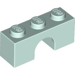 LEGO part 4490 Brick Arch 1 x 3 in Aqua/ Light Aqua