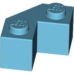 LEGO part 87620 Wedge 2 x 2 Facet in Medium Azure