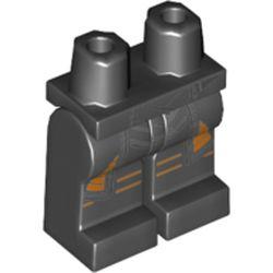 LEGO part 970c00pr2148 MINI LOWER PART, NO. 2148 in Black