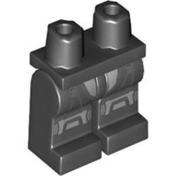 LEGO part 970c00pr2149 MINI LOWER PART, NO. 2149 in Black