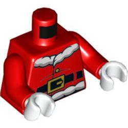 LEGO part 973c22h27pr5787 MINI UPPER PART, NO. 5787 in Bright Red/ Red