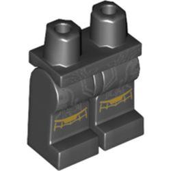 LEGO part 970c00pr2158 MINI LOWER PART, NO. 2158 in Black