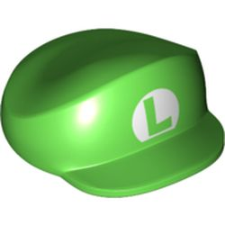LEGO part 80479 HAT 4X5, NO. 12 in Bright Green