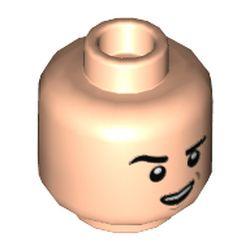 LEGO part 3626cpr3574 MINI HEAD, NO. 3574 in Light Nougat