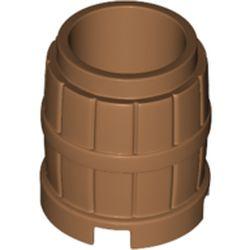 LEGO part 2489 Barrel 2 x 2 x 2 in Medium Nougat