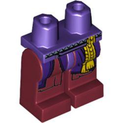 LEGO part 970x268pr2179 MINI LOWER PART, NO. 2179 in Dark Red