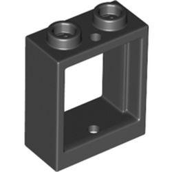 LEGO part 79128 FRAME 1X2X2 in Black