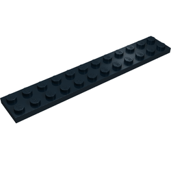 LEGO PART 2445 LIGHT BLUISH GREY PLATE 2 X 12 FOR 3 PIECES