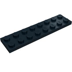 2x Plaque Plate 2x8 8x2 rouge foncé//dark red 3034 NEUF Lego