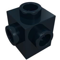 Lego Brique Brick 1x1 Studs 4 Sides 4733 Dark Bluish Gray Choose Quantity