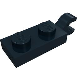 Details about  /LEGO Parts Pieces~ Plate Modified 1 x 2 Clip Horizontal on End~Part# 63868