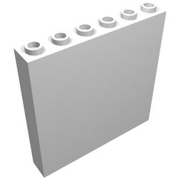 LEGO® Dark Gray Panel 1 x 6 x 5 Design ID 59349