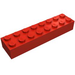 x1 Lego-3007-Brick 2x8  choose colour