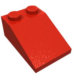 25X Lego® 3298 Basic Dachsteine Slope Roof Tile 25° 2X3 Orange 4121742 NEU