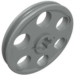 2x Lego ® 4185 Technic Wedge Belt Pulley Guide Pulley Belt Wheel Orange