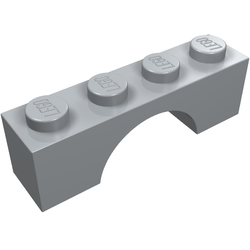 Lego 3659 @@ Brick Arch 1 x 4 @@ Blau 6290