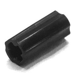 TECHNIC TK440 LEGO 6538c Axle Connector Smooth with /'x/' Hole DARK B GREY x4