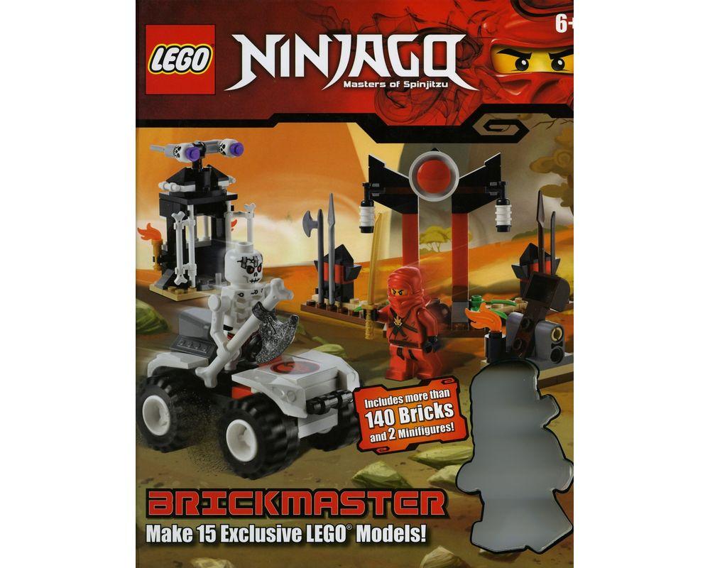 LEGO Set 0756682762-1 Ninjago Brickmaster (2011 Books) | Rebrickable -  Build with LEGO