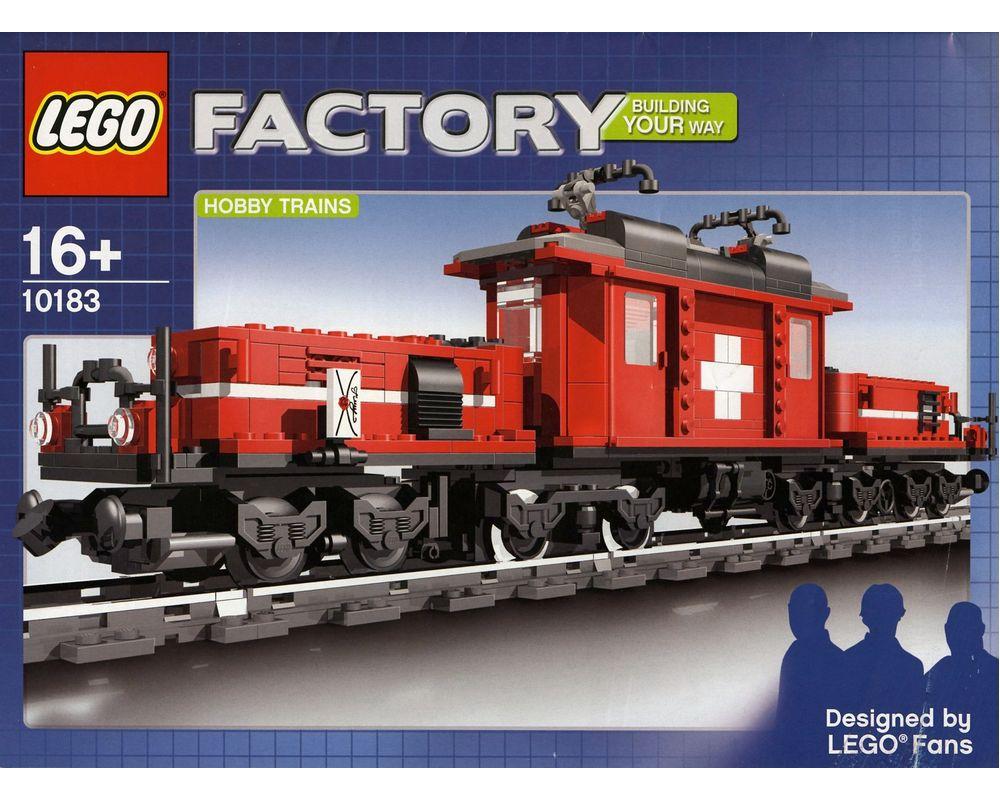 LEGO Set 10183-1 Hobby Train