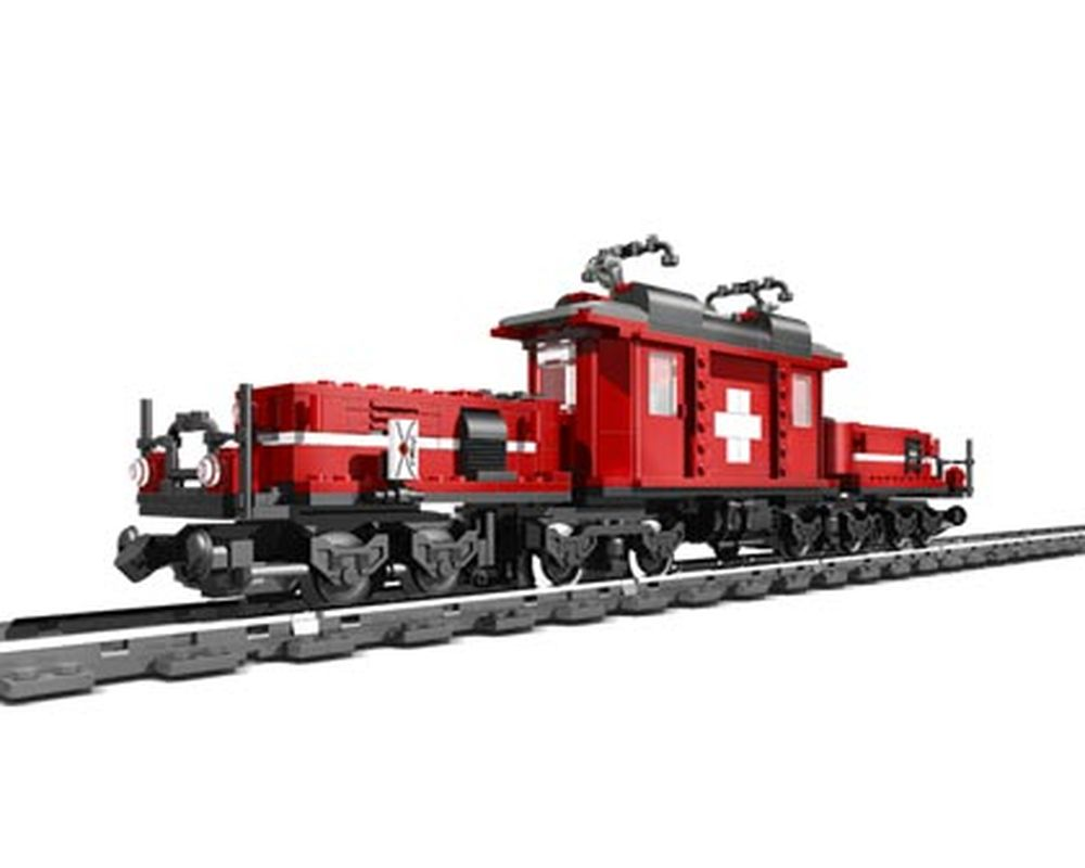 LEGO Set 10183-1 Hobby Train (Model - A-Model)