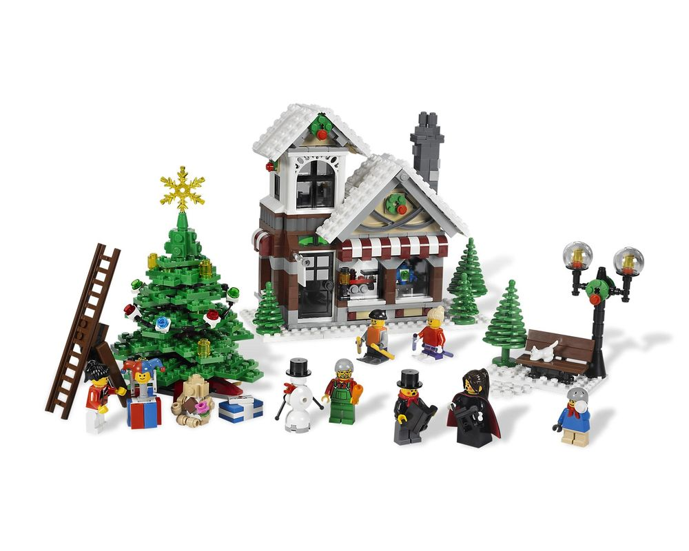 LEGO Set 10199-1 Winter Toy Shop