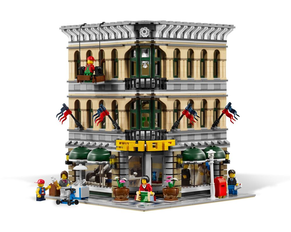 LEGO Set 10211-1 Grand Emporium (Model - A-Model)