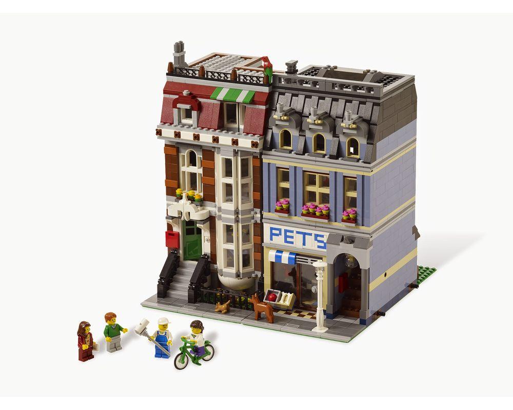 LEGO Set 10218-1 Pet Shop (Model - A-Model)