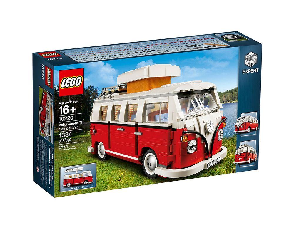 LEGO Set 10220-1 Volkswagen T1 Camper Van